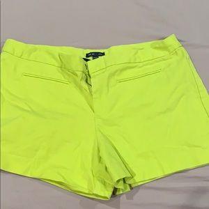 Neon Gap shorts
